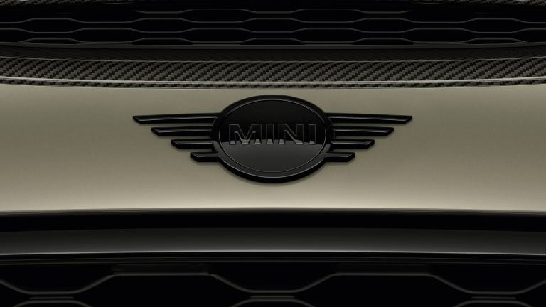 MINI 3-door Hatch – MINI logo piano black