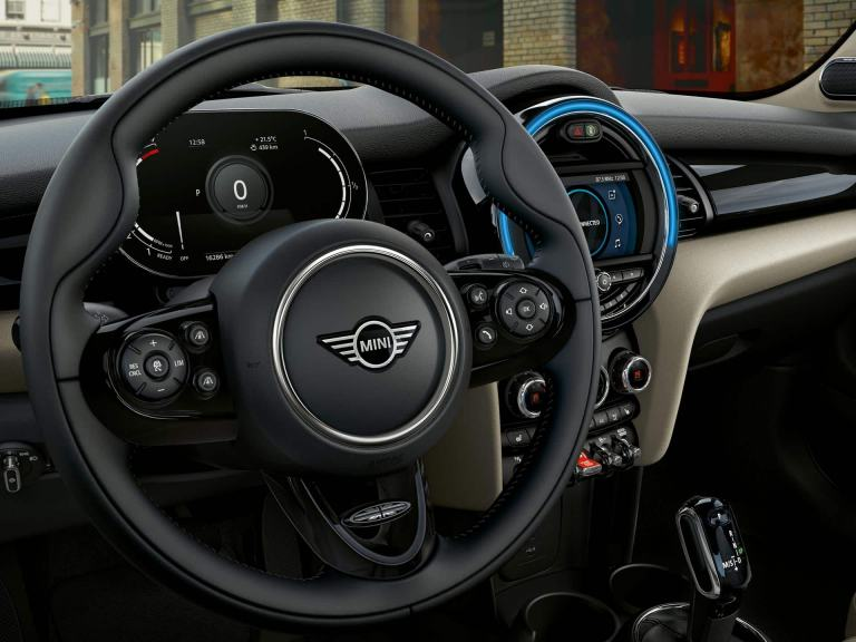 MINI 5-door hatch – steering wheel