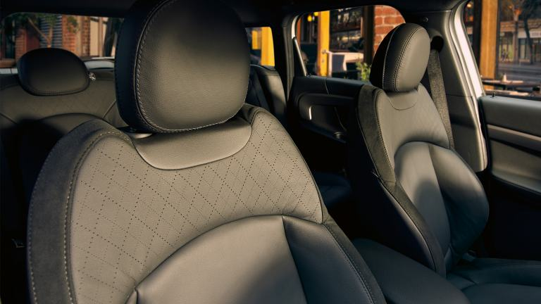 MINI F60 hybrid – upholstery – leather seats