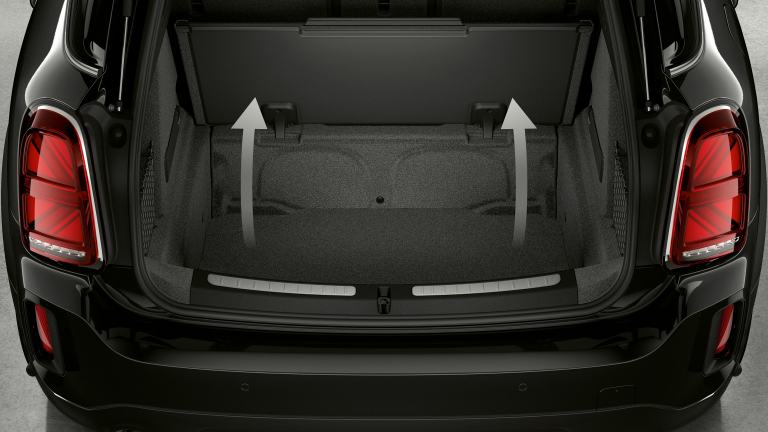 MINI Cooper SE Countryman ALL4 – boot space – luggage room
